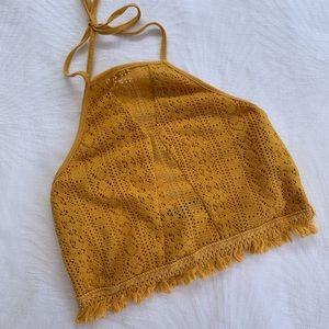 ALLY FASHION | Crochet halter top